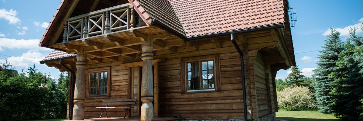 Leuro –od pnia drzewa do domu z drewna